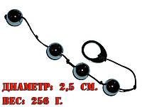 Вагинальные шарики для тренировки мышц влагалища металл 256 г.
