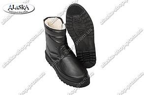 Мужские сапоги (Код: 812 черный)