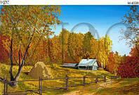 Схема для вышивки бисером Осенний пейзаж