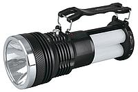 Фонарик аккумуляторный с солнечной панелью YJ 2881 T, кемпинговый фонарь, многофункциональный фонарик