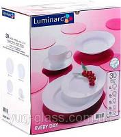 """Сервиз столовый 30 предметный Everyday """"G5520"""" Luminarc."""