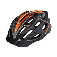 Велосипедный шлем Carrera MTB Gravity (Black/Orange)