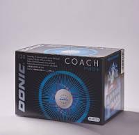 Пластиковые мячи для  настольного тенниса Donic Coach  P40+ (120 шт.)