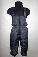 Полукомбинезон штаны детские зимние 2, 3, 4, 5, 6, 7 лет
