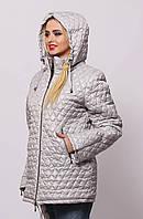 Стеганые осенние куртки 40-66 размеры разные цвета