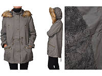 Куртка -парка серая S,М,L рзм.