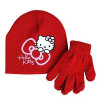 Демисезонный комплект Hello Kitty красный; универсальный размер