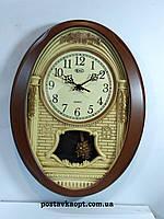 Часы настенные с маятником  и с боем 814