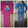 Пижамы детские байковые Турция