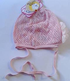 Головний убір для малюків Рожевий Осінь 42-46 см 3-002510 Tutu Польща