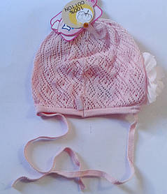 Головний убір для малюків Малиновий Осінь 42-46 см 3-002510 Tutu Польща