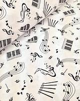 Детское постельное белье Музыка (100% хлопок)