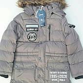 Куртка на мальчика удленённая подросток GRACE