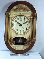Часы настенные с маятником  и с боем 811