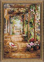 Набор для вышивания RIOLIS PREMIUM «Свидание в саду» (100/043)