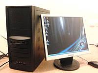"""Монитор 17"""" + 2Яд. Сore 2 ,Intel (Sata)"""