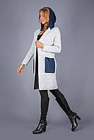 Кардиган-пальто премиум класса светлых тонов