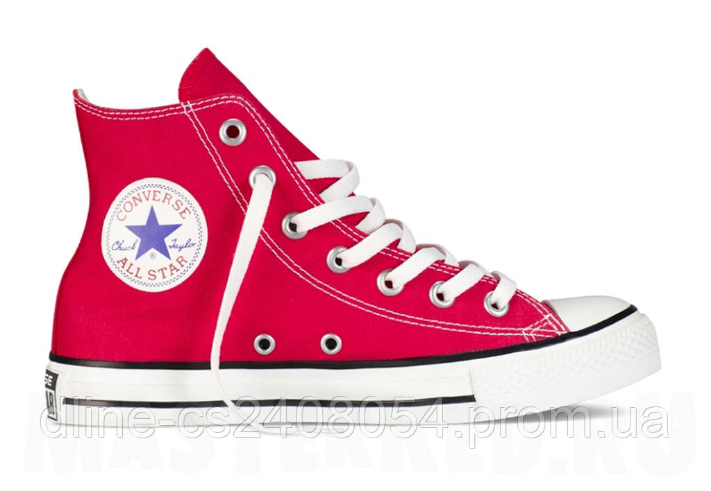 Кеды Converse All Star Hi Красные