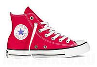 Кеды Converse All Star Hi Красные, фото 1