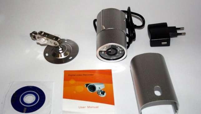 Камера видеонаблюдения уличная DVR Camera2  с  записью на карту памяти (флешку)