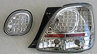 Lexus GS300 оптика задняя LED хром