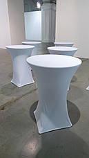 Стрейч чехлы на столы из плотной ткани, фото 3