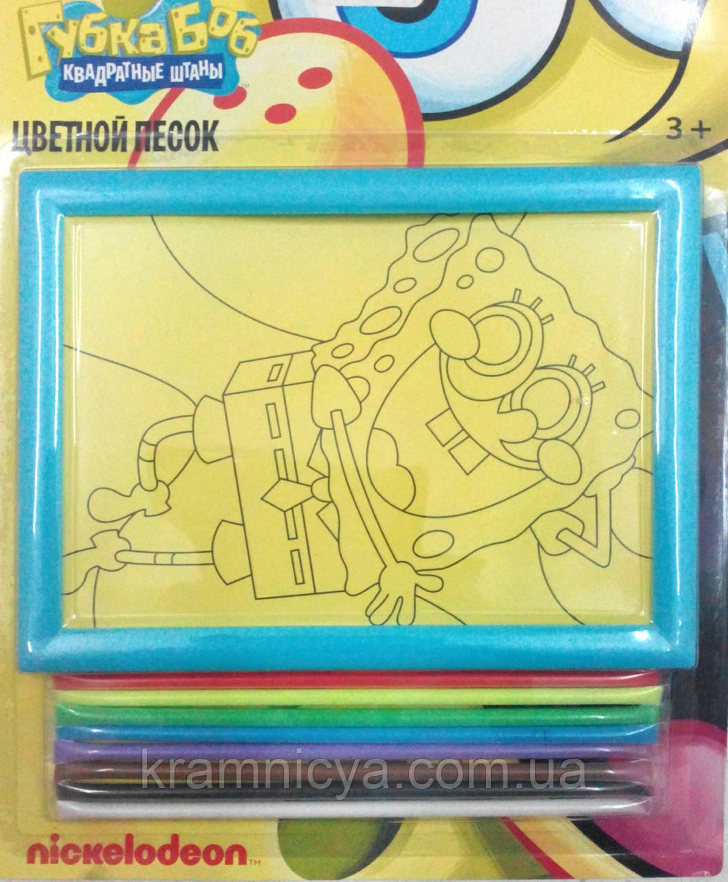 Картинка из песка Губка Боб, ТМ Сentrum