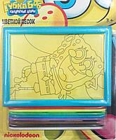 Картинка из песка Губка Боб, ТМ Сentrum, фото 1