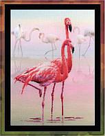 Набор для вышивания Риолис РТ-0012 Розовый фламинго