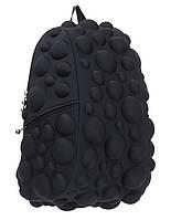 "Рюкзак ""Bubble Full"", цвет Neon Black (черный неон), MadPax"