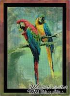 Набор для вышивания Риолис РТ-0013 Попугаи