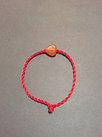 Браслет красная нить оберег от сглаза с талисманом Сердце