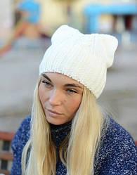 Вязанная шапка - стильно, модно, тепло
