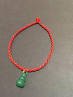 Браслет красная нить - оберег от сглаза Тыква горлянка