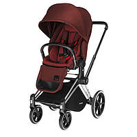 Cybex - Прогулочная коляска PRIAM LUX SEAT, цвет Mars red