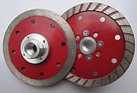 Алмазный диск на фланце для резки и шлифовки гранита MULTI 2/1 Turbo 109x4,5x10x22/M14F