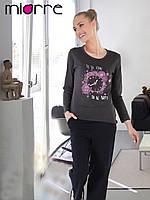 Пижама женская Miorre с длинным рукавом