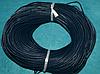 Шнур шкіряний 20121-1 темно-синій 10 м