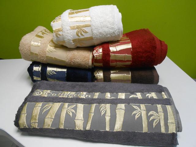 Бамбуковые полотенца, 100*150 см, сауна