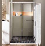 Душова двері Golston G-S8009, 1200x1900 мм, прозоре скло, фото 2