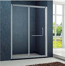 Душова двері Golston G-S8009, 1200x1900 мм, прозоре скло
