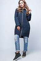 Куртка  Prunel 444 женская  парка батал демисезонная, фото 1