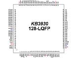 Контроллер клавиатуры ENE KB3930QF A1 LQFP-128, фото 3