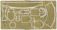 1:35 Шанцевый инструмент на советскую бронетехнику, Vmodels 35010