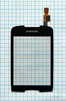 Тачскрин сенсорное стекло для Samsung S5570 Galaxy Mini black