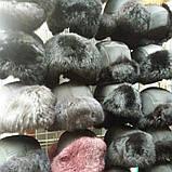 Детская зимняя шапка ушанка натуральный мех, фото 4