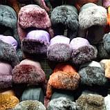 Детская зимняя шапка ушанка натуральный мех, фото 5