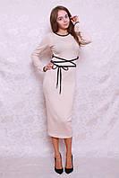 Женское зимнее платье футляр