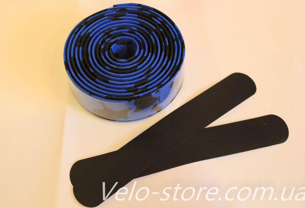 Финишная лента для закрепления обмотки (черный цвет)