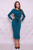 Красивое модное платье футляр